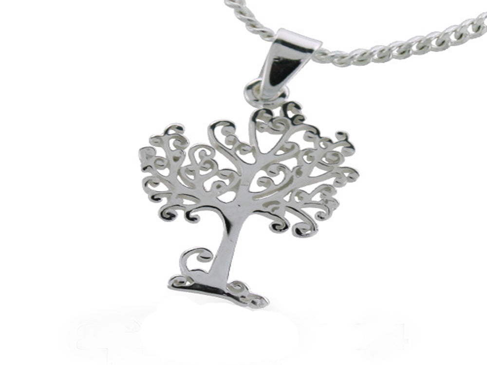 Tree of Life Sterling Silver Pendant - Essentially Silver Jewelry