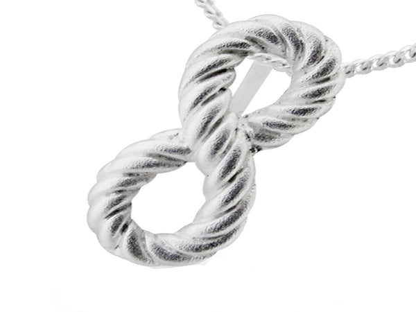 Inifinity Sterling Silver Pendant - Essentially Silver Jewelry