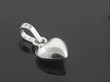 Heart .925 sterling silver pendant - Essentially Silver Jewelry
