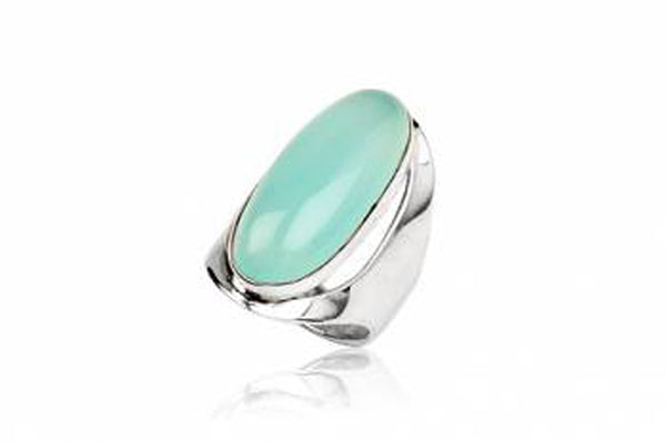 Calcedonia Sterling Silver Ring