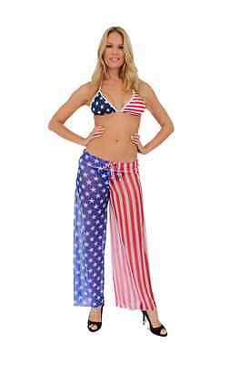 USA Flag Pants