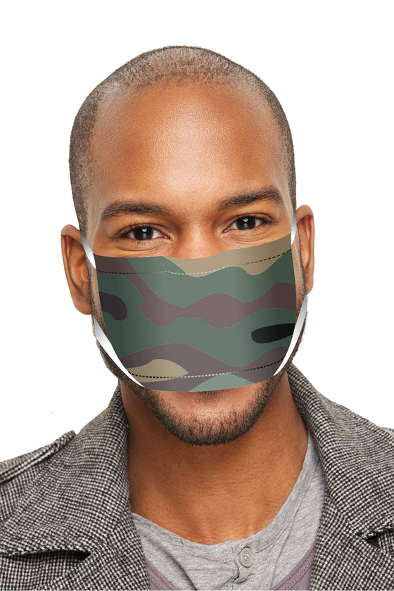 Unisex Camo Camouflage Anti Dust Funny Fashion Face Mask