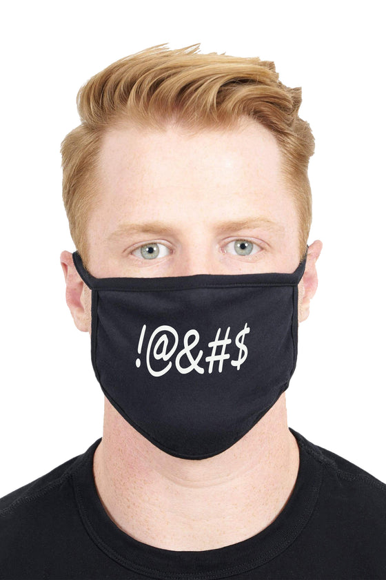 Unisex Custom Design Curse Anti Dust Funny Fashion Face Mask