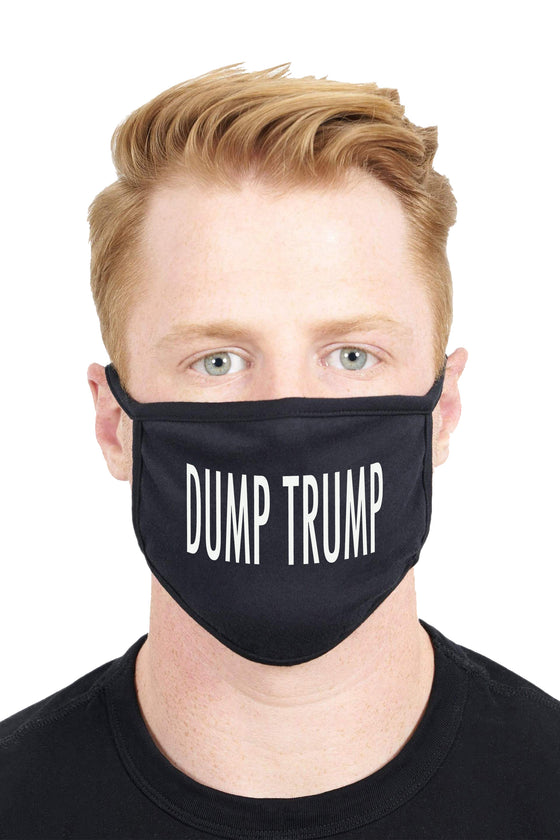 Unisex Custom Design Dump Trump Anti Dust Funny Fashion Face Mask
