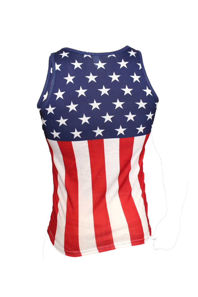 Kids USA Flag Pride Sleeveless Shirt