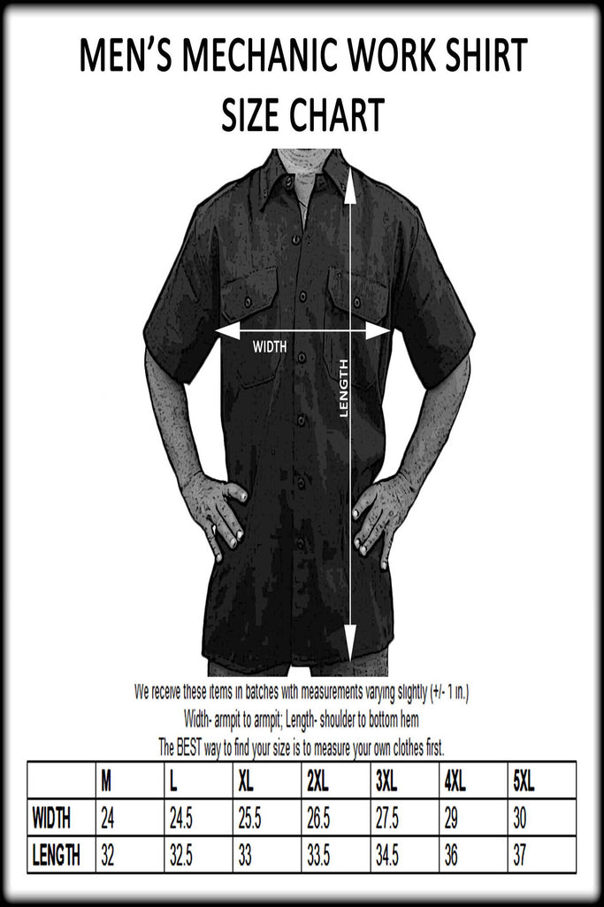 Men's Mechanic Work Shirt Sons of Ireland