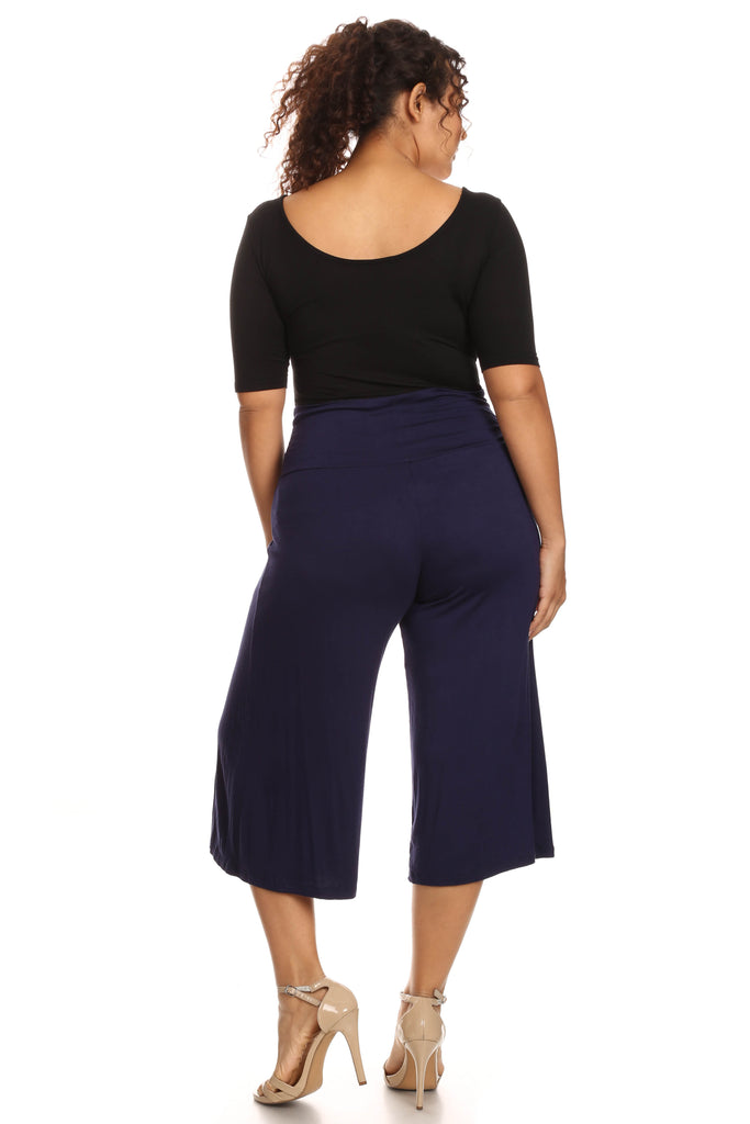 Plus Size Gaucho Pants