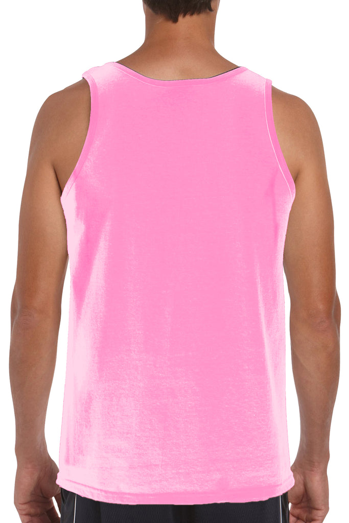 Men's Tank Top Breast Cancer Awareness Hope and Love