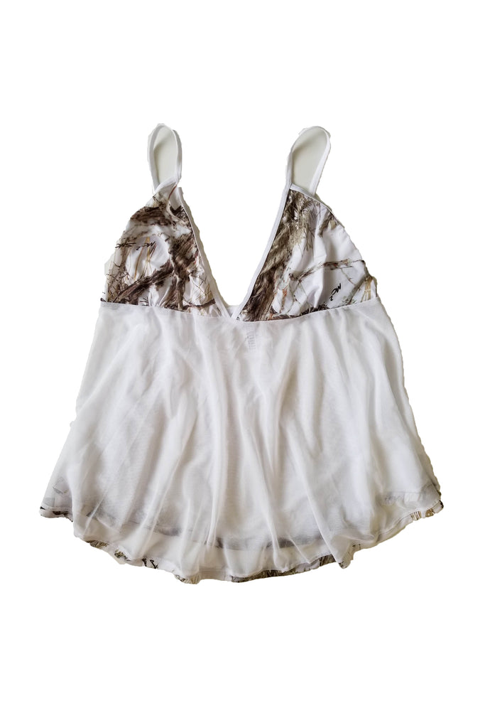 Shore Trendz True Timber Camo Baby Doll Lingerie Set