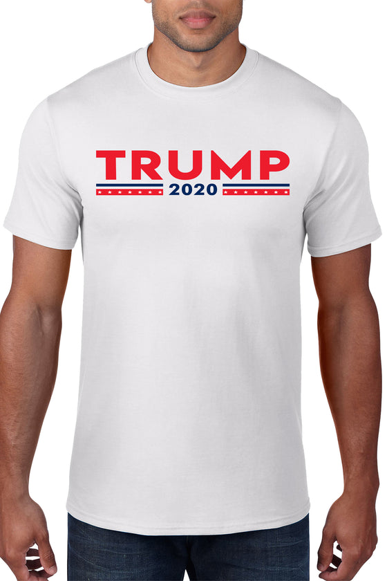 Unisex Trump 2020 Red White And Blue Short Sleeve T-Shirt