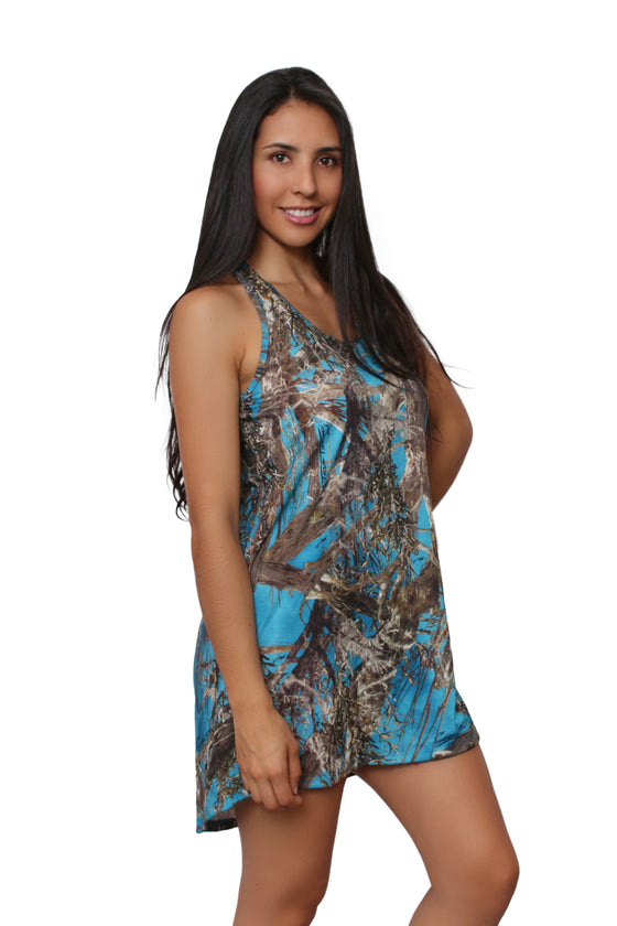 2bc6b80328516 Women's Camo Tank Dress Authentic True Timber Made in the USA $9.88 $36.99