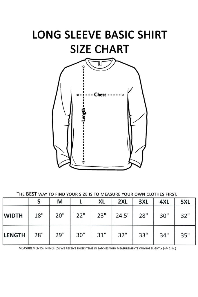 Men's Long Sleeve Shirt Land Of The Free