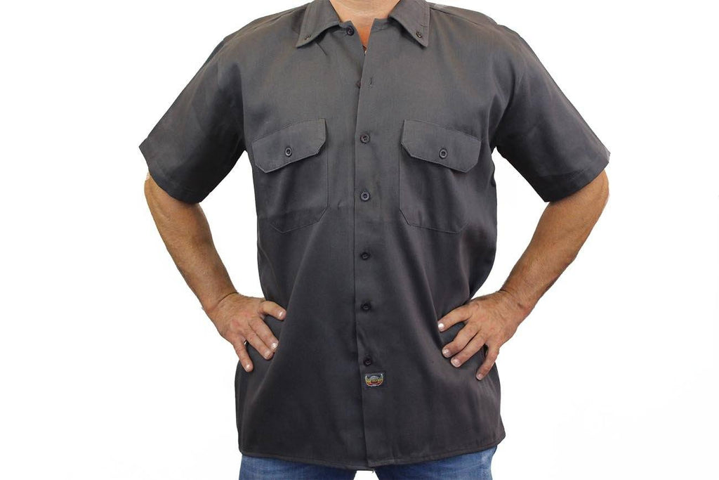 Men's Mechanic Work Shirt Honor Their Sacrifice Mechanic Work Shirts SHORE TRENDZ