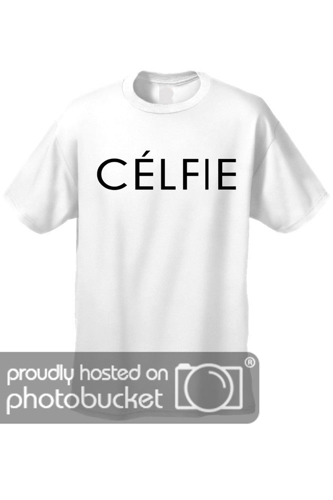 "Men's It's All About You; Sexy French ""Celfie"" GREY Short Sleeve T-shirt"
