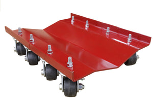 "Merrick Machine (M998064) Merrick Originals - 24""x16"" Ribless Dually Dolly - 5200 lbs. Capacity"
