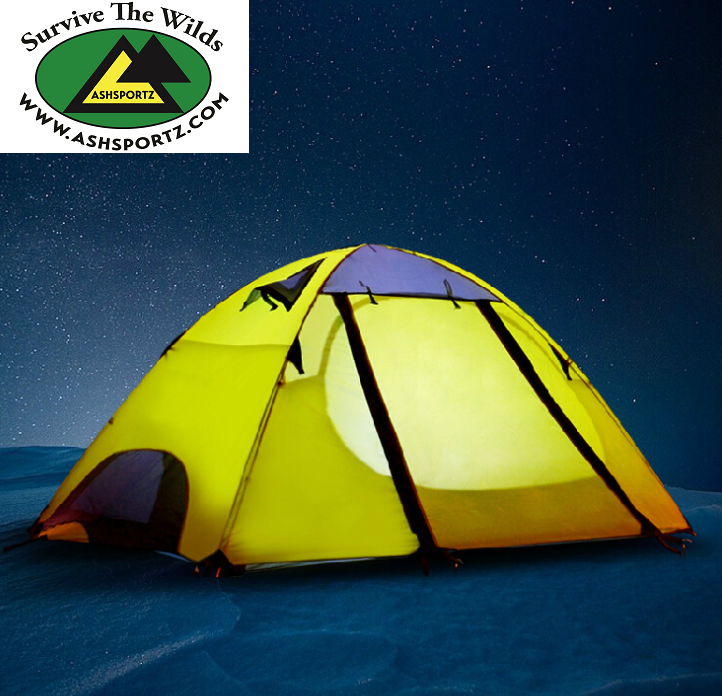 The Ashsportz 2 person stormproof tent
