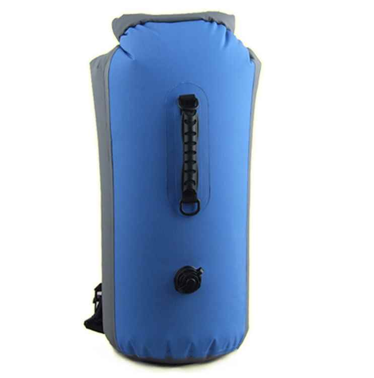 100% Waterproof 60L Dry Bag with shoulder straps