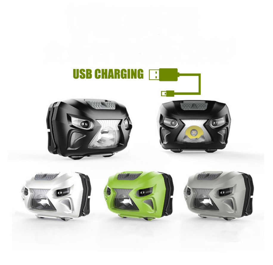 300 Lumen LED Rechargeable Headtorch
