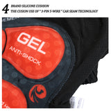 5D Gel Padded Shockproof Cycling Underwear Shorts