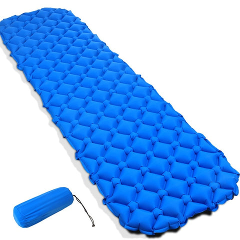 Quilted Style Inflatable Camping Pad