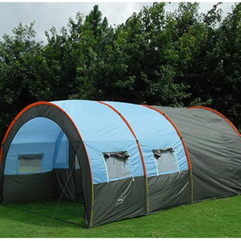 High Quality Large Tunnel Shaped Waterproof Camping Tent