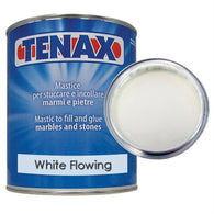 White Flowing Polyester Glue