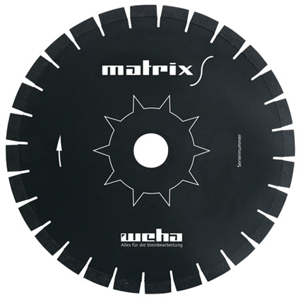 Weha Matrix S Diagonal Diamond Blade