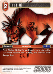 Red XIII (1-029C)