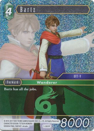Bartz Promo Alternate Art (1-081R)