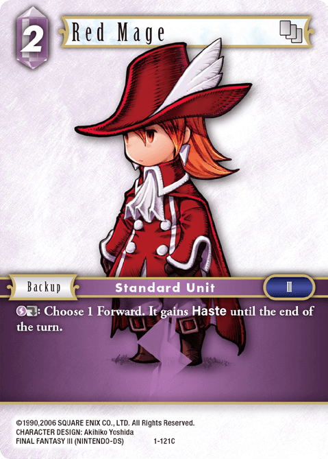 Red Mage (1-121C)
