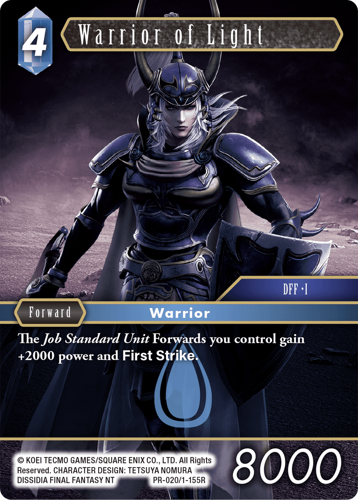 Warrior of Light (PR-020/1-155R)