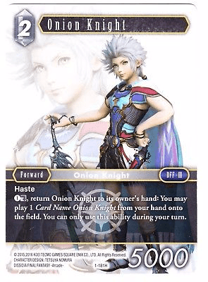 Onion Knight Promo Alternate Art (1-181H)