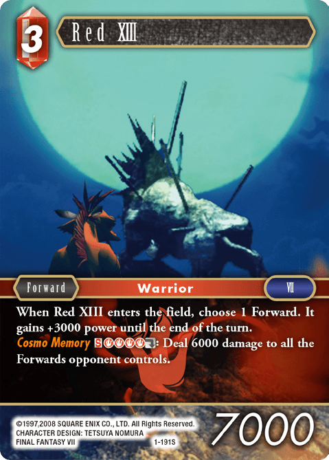 Red XIII (1-191S)