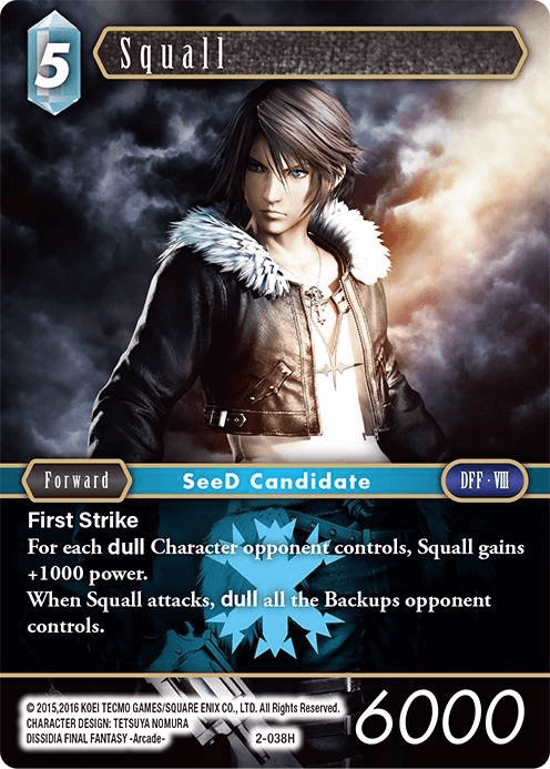 Squall (2-038H)