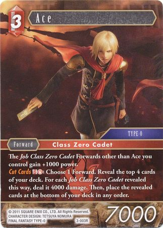 Ace Promo Alternate Art (3-003R)