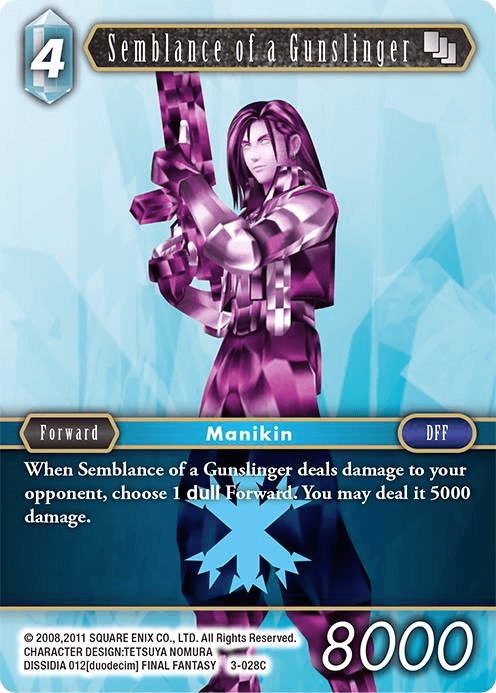 Semblance of a Gunslinger (3-028C)