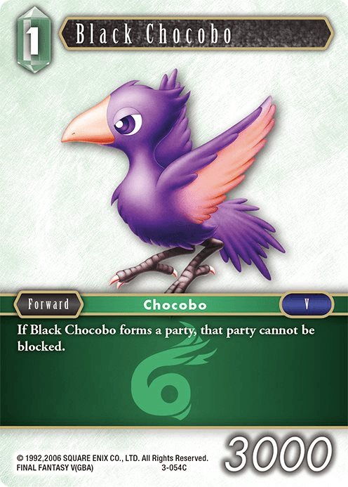 Black Chocobo (3-054C)