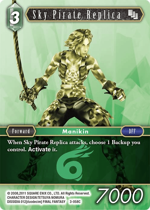 Sky Pirate Replica (3-058C)