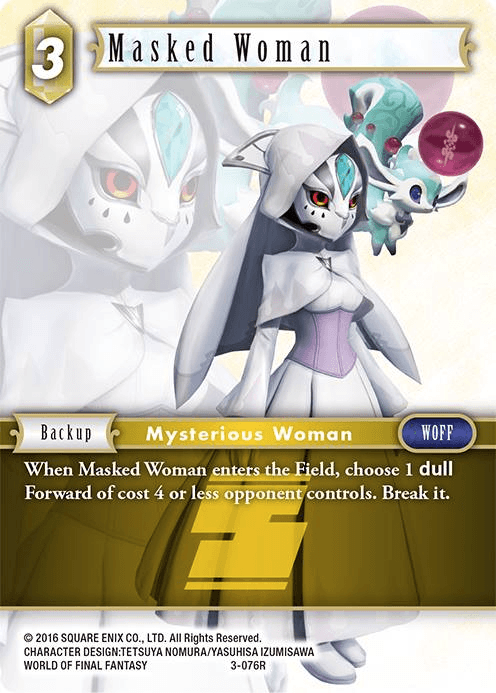 Masked Woman (3-076R)