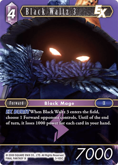 Black Waltz 3 (3-105C)