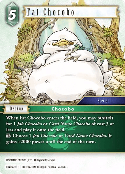Fat Chocobo (4-064L)