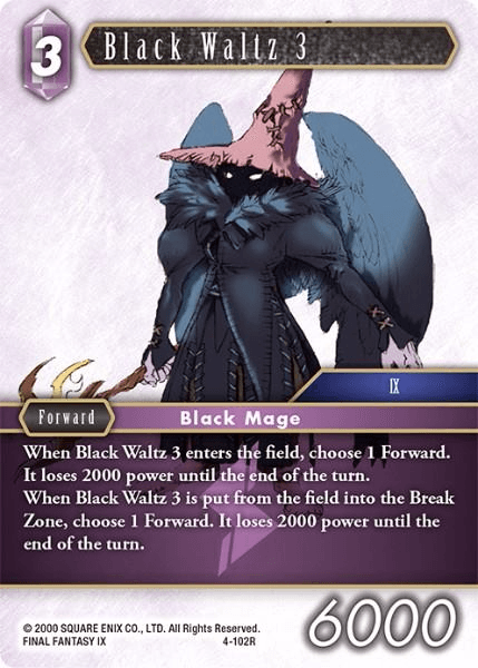 Black Waltz 3 (4-102R)