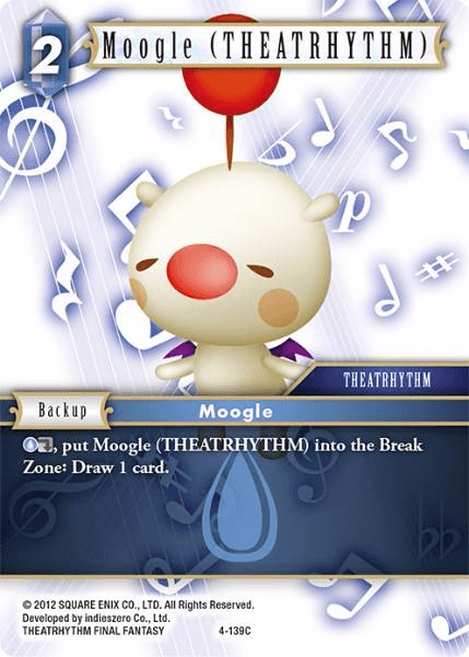 Moogle (THEATRHYTHM) (4-139C)