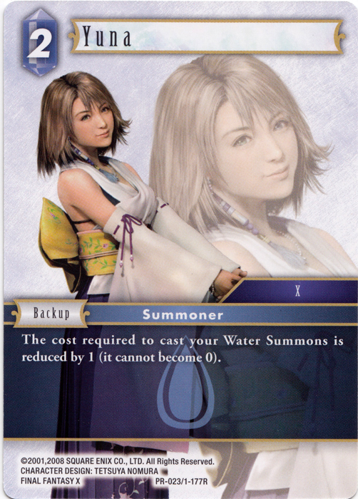 Yuna Promo Alternate Art (PR-023/1-177R)