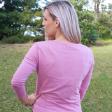 Cruise Long Sleeve Top Pink