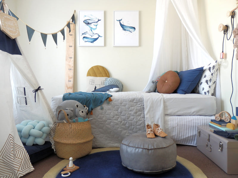 Scandi Boys Room