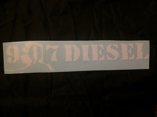 907 DIESEL Side by Side Decal