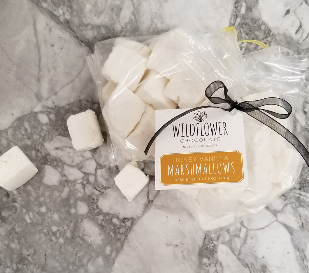 Honey Vanilla Marshmallows