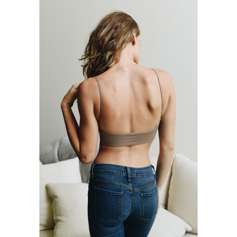 Low Back Seamless Bralette