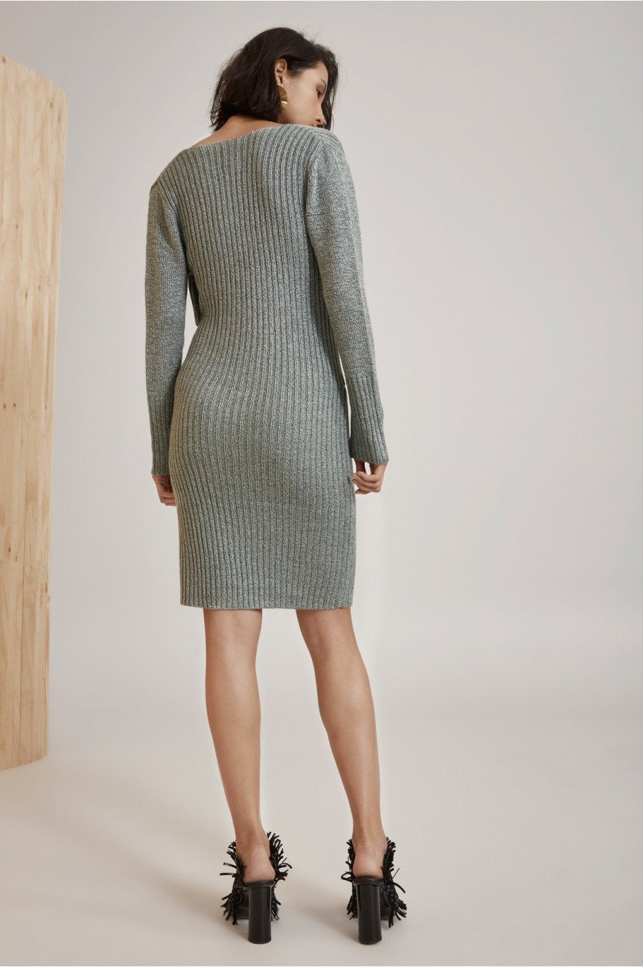 evolution knit dress by cmeo collective